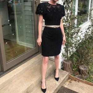 Vintage Leslie Faye little black dress